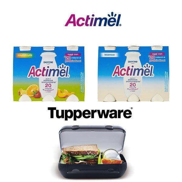 Actimel regala Tapperware