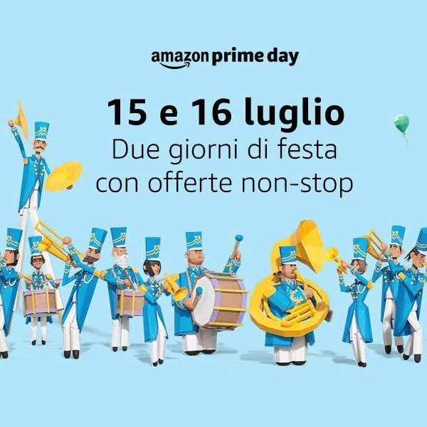 Amazon Prime Day anteprima