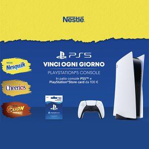 PlayStation 5 con Nestlè